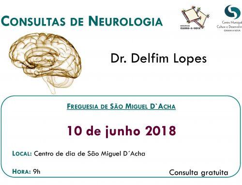 Consultas Neurologia – São Miguel D´Acha