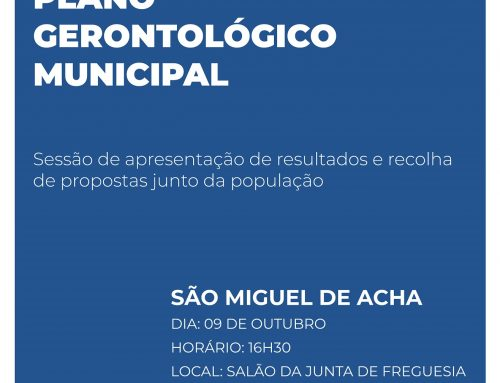 Plano Gerontológico Municipal