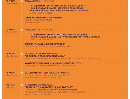 Semana da Alimentação | 16 a 20 de Outubro em Idanha-a-Nova