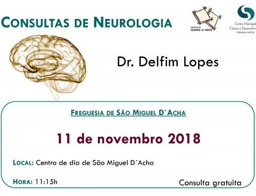 Consultas de Neurologia – novembro