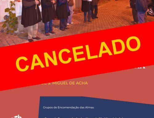 CANCELADO – 3º Encontro de Cantares Quaresmais – 21.03.2020